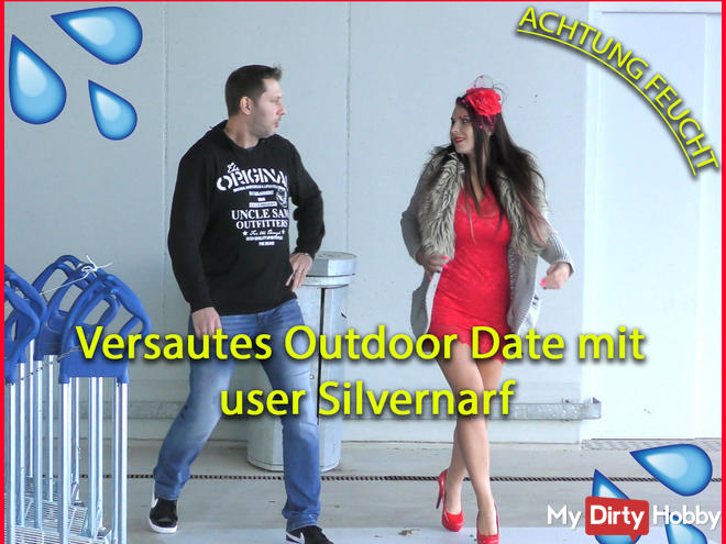 Versautes Outdoor Date mit User silvernarf