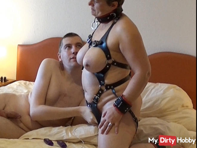 Sex slaves training continued