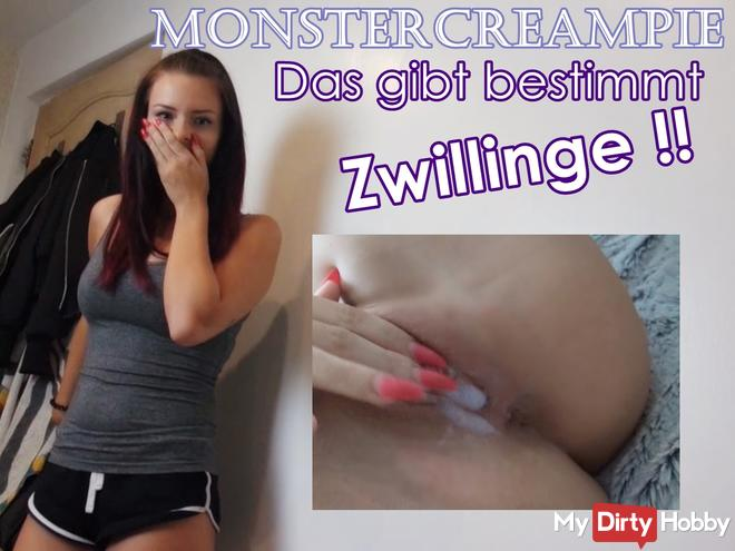 Monstercreampie - This is definitely TWINS !!