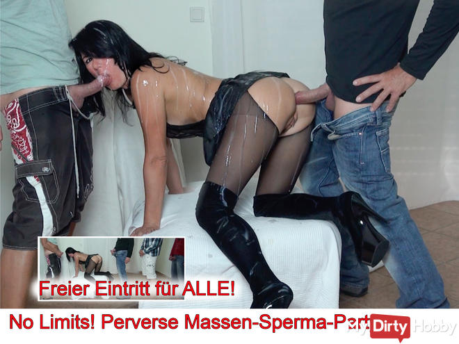 No Limits! Perverse Massen-Sperma-Party, AO