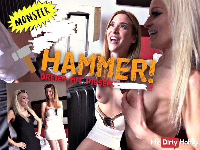HAMMER!! DREIER MIT RIESENschw**z !!!
