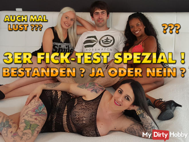 3 FICK-TEST SPECIAL! COMPANY YES OR NO ?