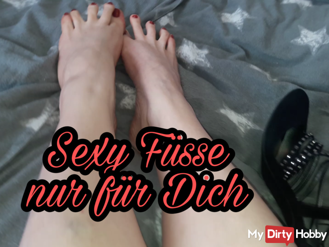 Sexy feet just for you