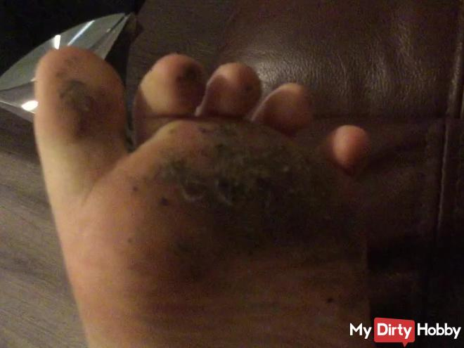 Arikajira Filthy Dirty Feet Foot Fetish BBW