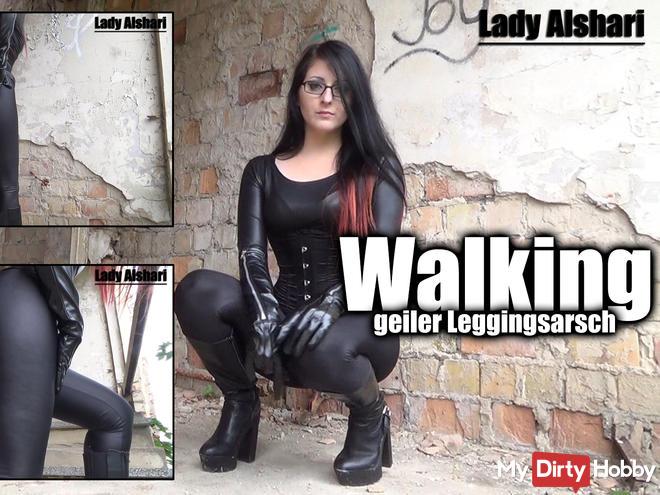 Walking - Geiler Leggingsarsch - sexy ass in leggings