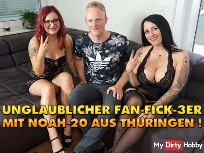 Incredible Fan Fuck-3 with Noah 20 from Thuringia!