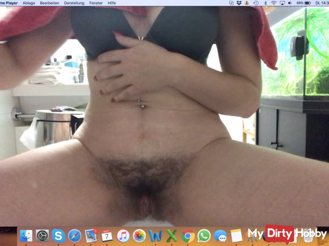 Today my pussy is shaved