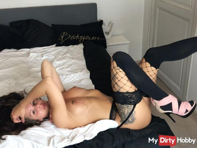 Cuckold - come and lick foreign sperm!