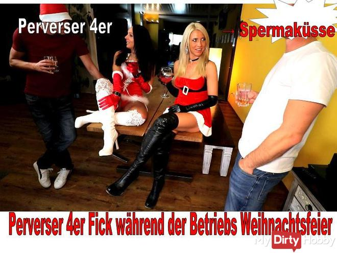 Perverted fuck 4 during the Christmas party