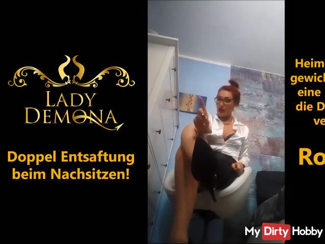 Double juicing during detention! Leherinnen Rollenspiel   by Lady_Demona