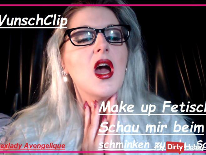 Wish Clip: Make Up - see me make up for you sow