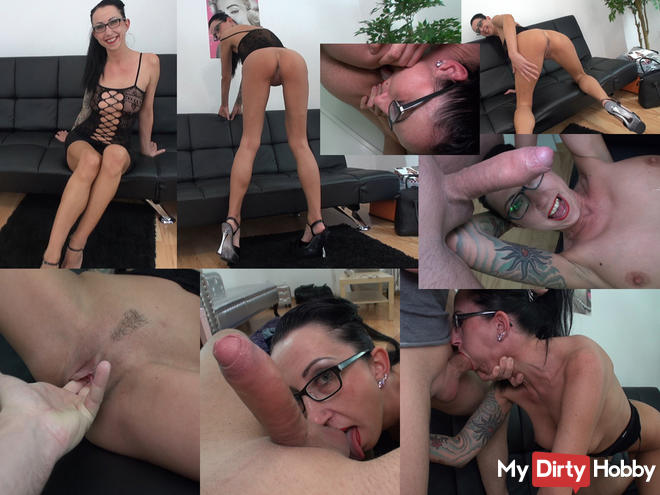 Porn casting with extreme bitch Stella Star - Part1