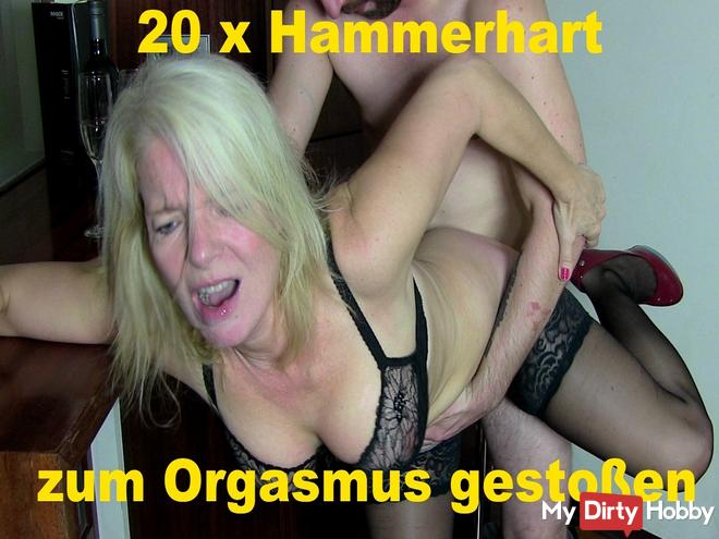 20 x hammered to orgasm! Best of