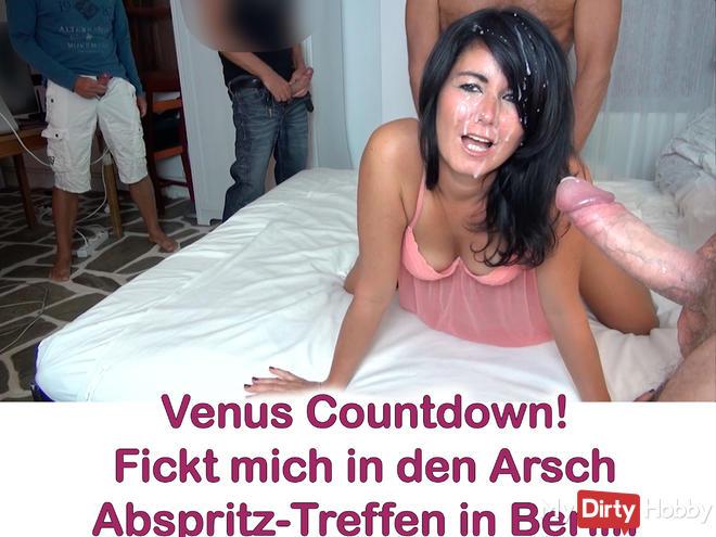 Venus countdown! Abspritz-Treff in Berlin