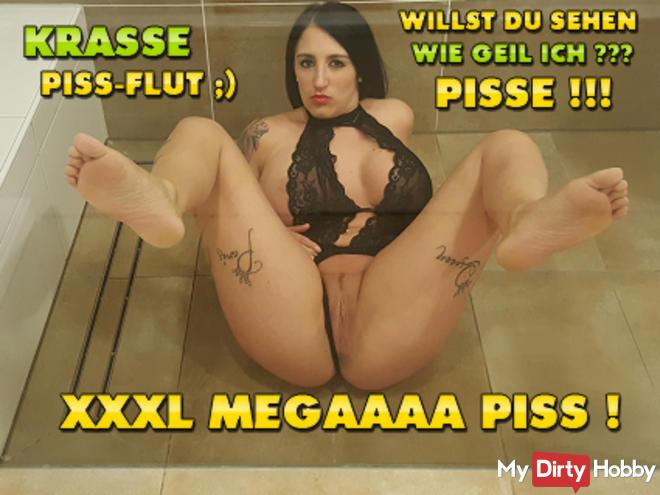 XXXL Meeegaaa Piss! Pit piss flood;)