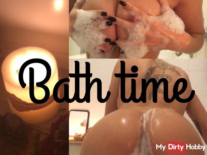 Striptease and bath time