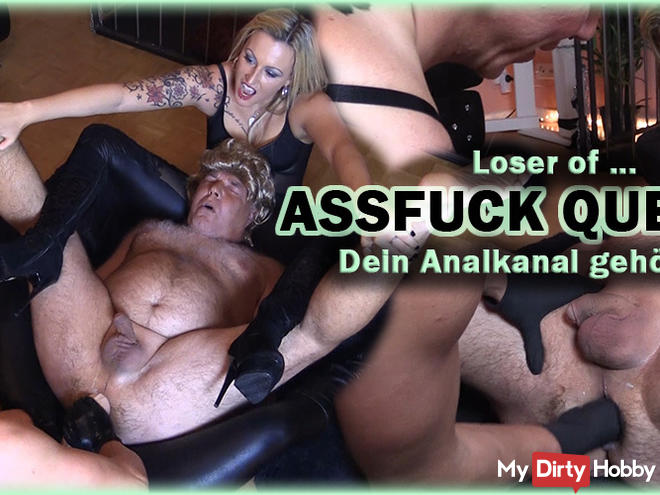 ASSFUCK QUEENS - Your anal canal is ours!