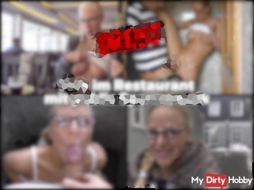 DREIST - Im Restaurant gefi**t mit public sper*awalk