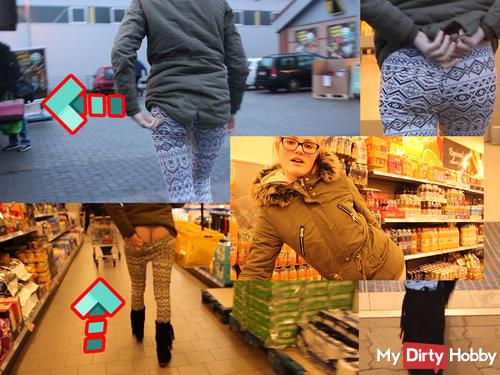Selbstbefrie***ng extrem – Public-Dreh im Supermarkt [Userwunsch]