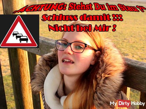 Public fi** in 20 Metern Höhe - an der Elbe auf dem Aussichtsturm - sper*aladung in der Wildnis!