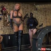 Traing and Whipping of the Slave