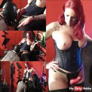 Tv whore learns to blow