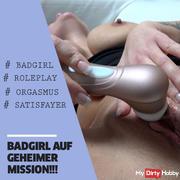 BADGIRL on a secret mission !!