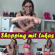 Shopping with Lukas