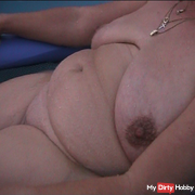 Naked on the air mattress