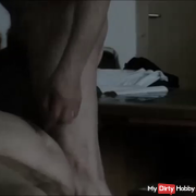 a user blows my cock empty ..