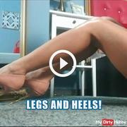 Legs and heels!