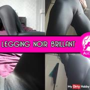 My shiny black leggings