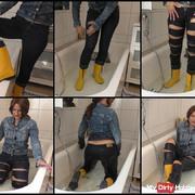 jetzt wird die Jeans fetzig