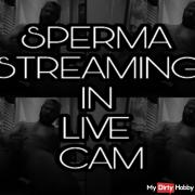 SPERMA STREAMING IN LIVE CAM