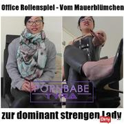 Office RPG - From Wallflower to the dominant dominant lady