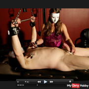 Slave is tormented and departed