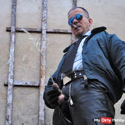 LeatherCop19 Cigar & Piss