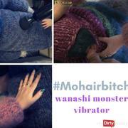 Mohair slut used