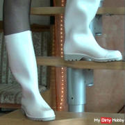 Fetish Wellington boots