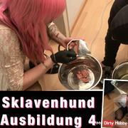 Dog Slave training 4 (Strapon ..