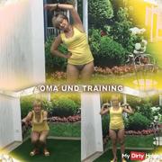 Grandma and training