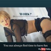 Working fuck