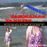 At 12 degrees water temperature tankini tested