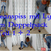Jeanspiss with Lyn in a twin pack. Part 1 + 2