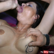 Fucked and milked by mouth