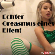 Real Orgasm of an Elf!