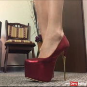 Red High Heels fantasy video !