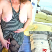 V02 First video of 2018  Standing masturbation HOT MILF