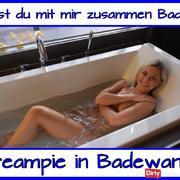 Fick mich in der Badewanne…