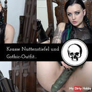 Krasse hookers and goth outfit